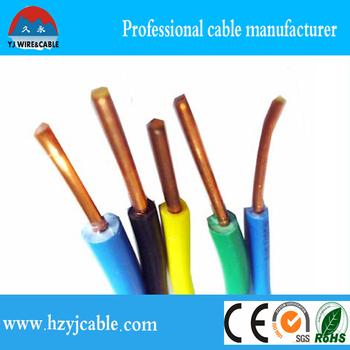 pvc insulation copper conductor bv electric wire 0 75mm 1mm 1 5mm rh alibaba com
