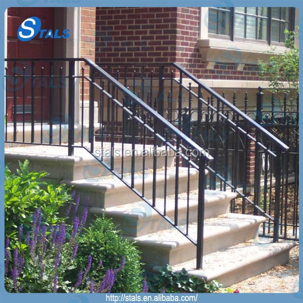 Wrought Iron Stair Railing, Wrought Iron Stair Railing Suppliers And  Manufacturers At Alibaba.com