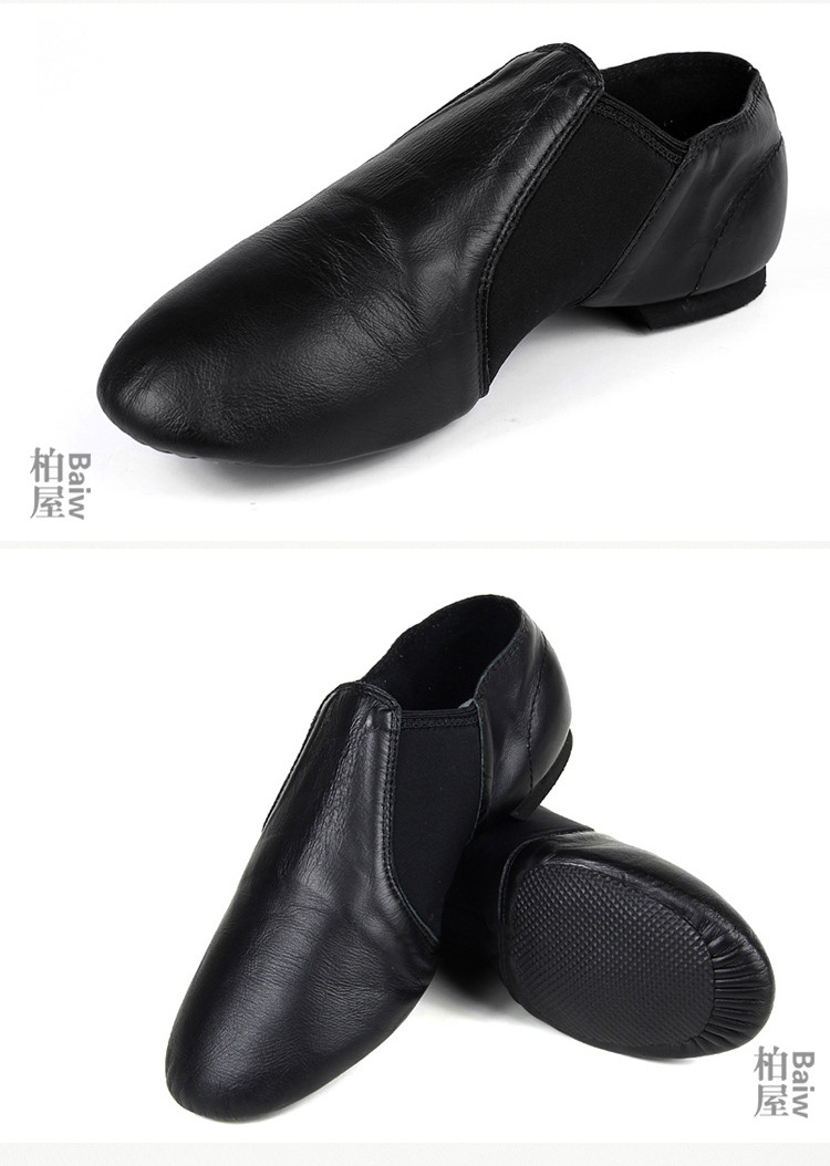 116136001 Dance Shoes Leather Jazz Shoes