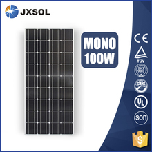 hot sale mono silicon solar panel 100w with high efficiency