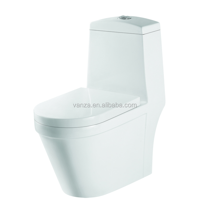 Siphonic Tornado Flushing One Piece Water Closet WC Toilet Sanitary