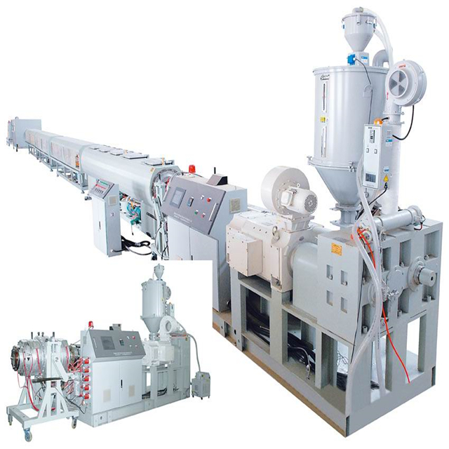 plastic pipe machine high quality pp/pe pipe extruder