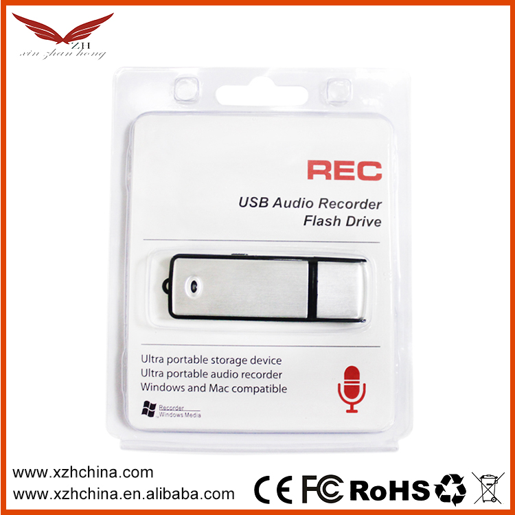 Best quality best sell digital usb keychain voice recorder 8GB