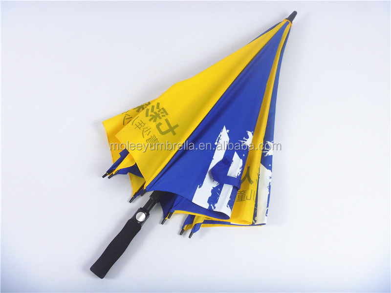 Custom Promotional Manual Golf Umbrellas Large Size for 3 persons