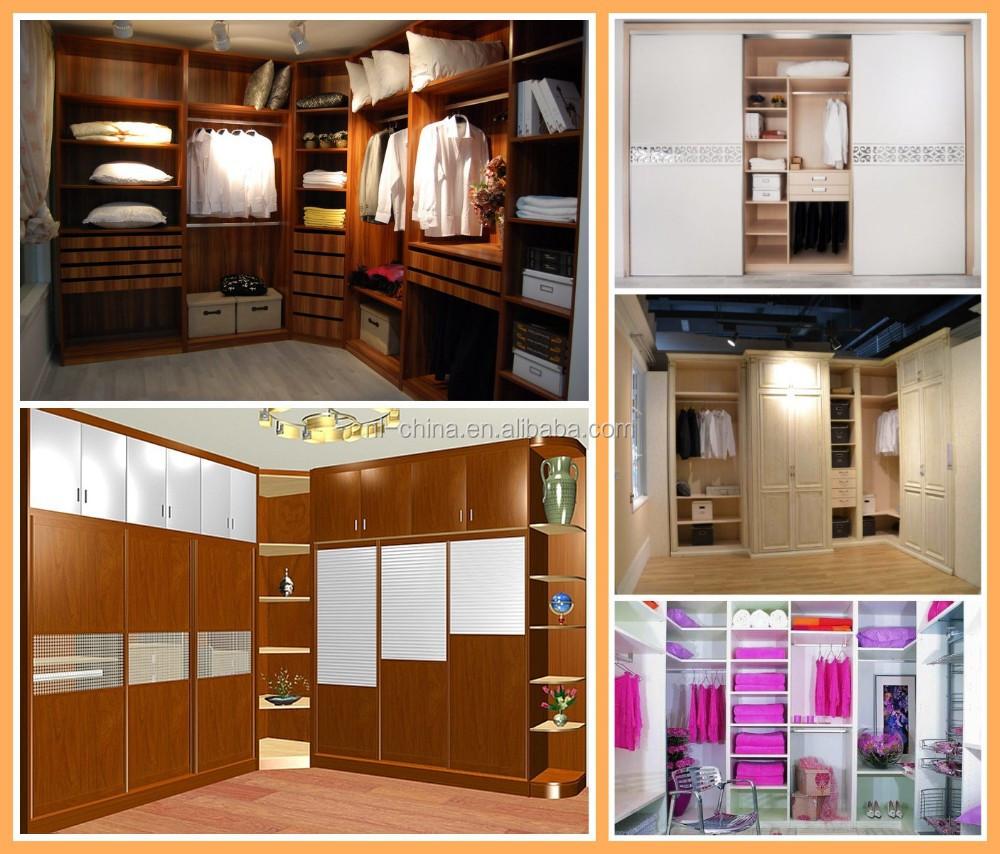 2015 fashinable witte kleur slaapkamer kast organisator kleding ...