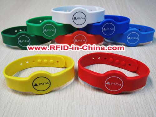 Por Rfid Kids Id Bracelets Concert Wristbands For Festival And Event
