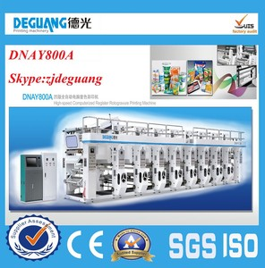DNAY800A 7 Colors Rotogravure Printing Machine Price,Rotogravure Machine,printing press raw materials