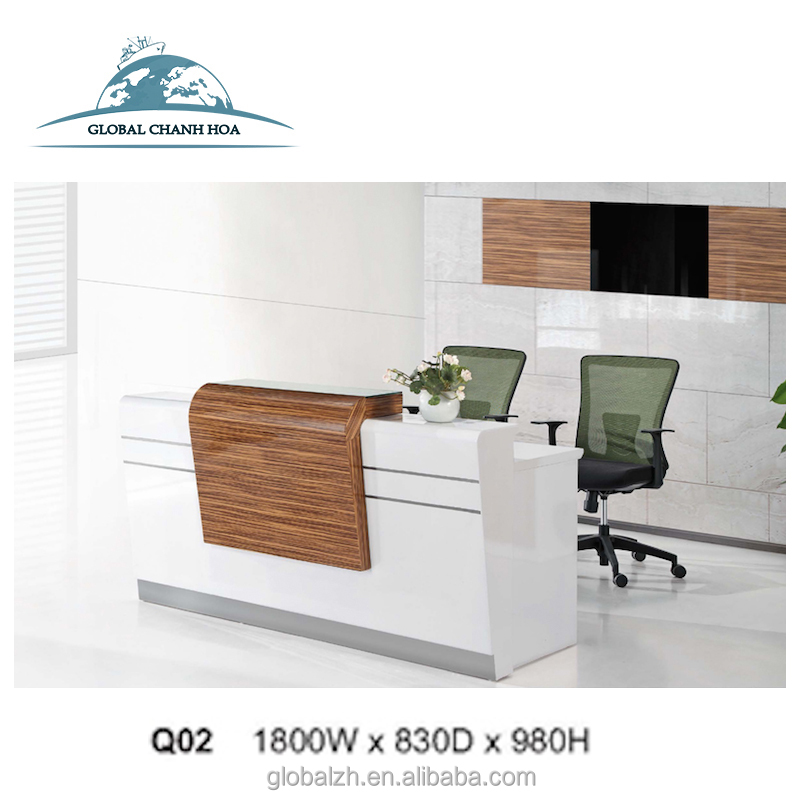 New Design Reception Desk/counter Office Furniture For Wholesales