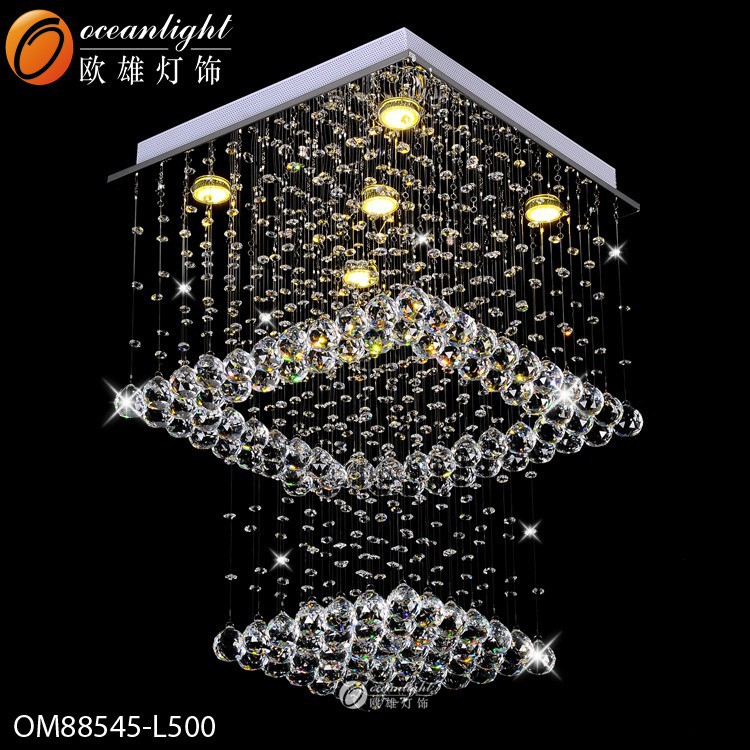 hotel decorative crystal chandelier lighting factory OM88545