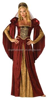 Trajes Cosplay Partido Y Medieval Sexy Vestido Renacimiento BY6zBwq