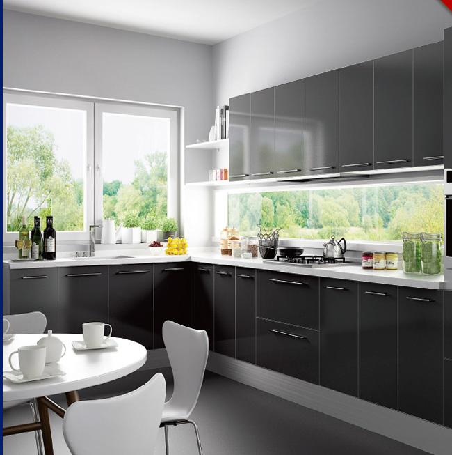Modular Kitchen Cabinets wholesale modern modular kitchen cabiwith sink, View ready