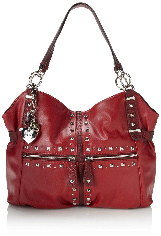a605cbba1c Get Quotations · KATHY Van Zeeland Studmuffin Tote Shoulder Bag