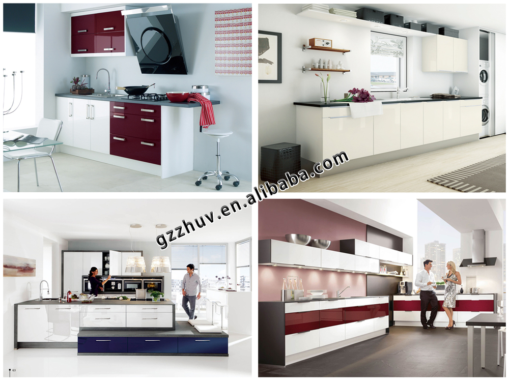 Mdf High Gloss Colorful Acrylic Kitchen Cabinet Door - Buy Kitchen ...