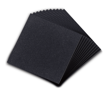 4in4in1 8in 10pcs Adhesive Foam Padding Self Stick Weather Stripping Non Slip Furniture Pads