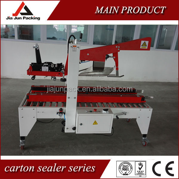Carton flap fold sealing machine carton box sealing machine flap folding box sealer