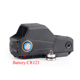 Tactical Red Dot Reflex Sight Largest Field With QD Quick Detach infrared laser dot sight electro dot sight for Hunting