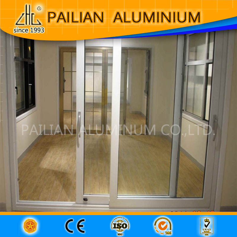 Hot Top Quality Aluminium Billet China Manufacturer Extrusion Sliding Door Wardrobe Profile