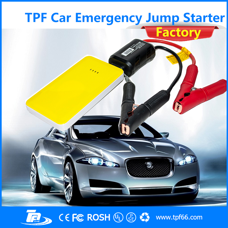 TPF emergency mini compact multi-function car jump starter for 12V <strong>auto</strong>
