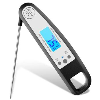 Waterproof Smart calibrated fast instant read digital meat barbecue thermometer with magnet