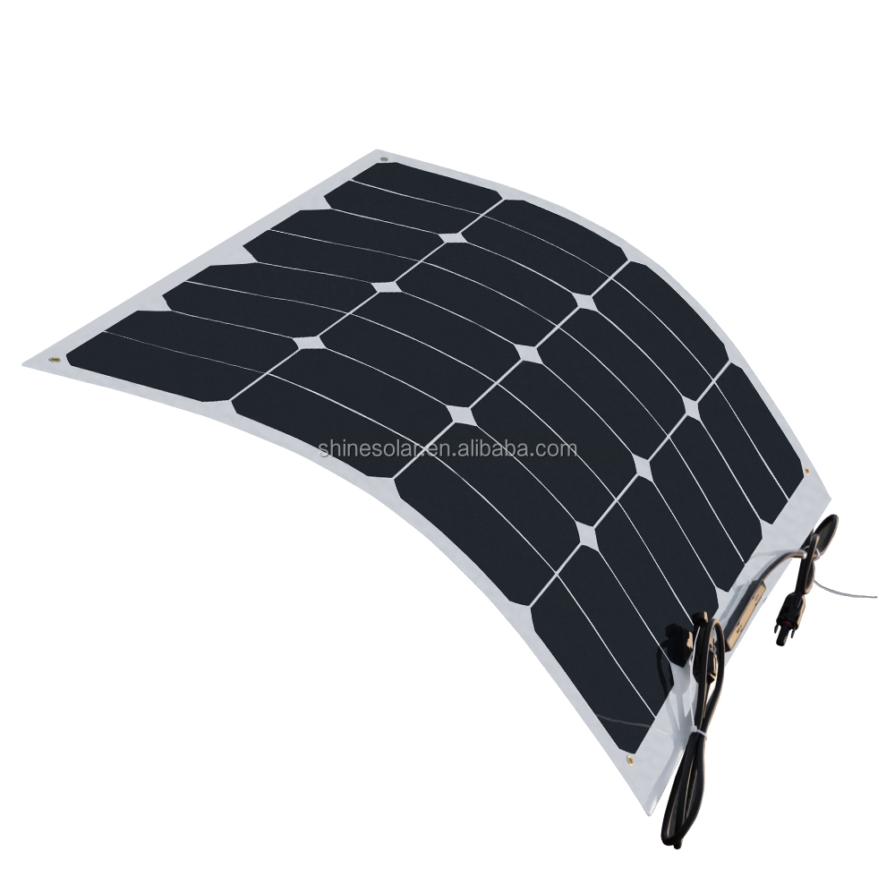 Sunpower 23% Most Efficient Solar Panel Home System Flexible Solar Panel -  Buy Flexible Solar Panel,Solar Panel Home System,Sunpower 23% Solar Panel