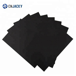 NEW Product BLACK Offset / Silk Screen Printing PVC Card Material / Basic PVC Core Sheet