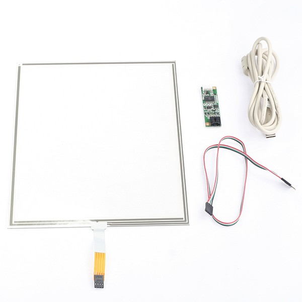 17 inch Resistive touch screen lcd touch monitor open frame available