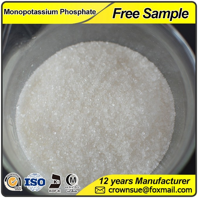 Professional 0 52 34 water soluble fertilizer 99% MKP Monopotassium Phosphate