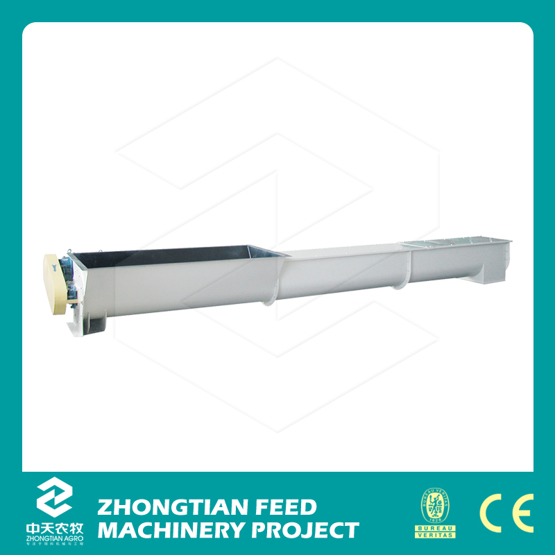 Hot sale CEand ISO approved carbon steel flexible screw conveyor price