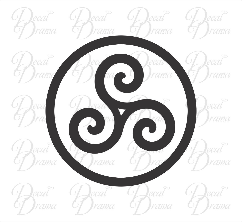 Buy Merlin-Inspired Druid Triskele Symbol ArcDecals78602307