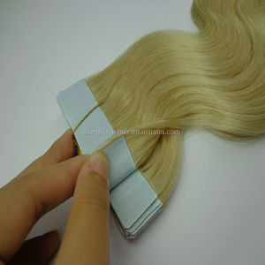 invisible keratin double sided tape hair extensions