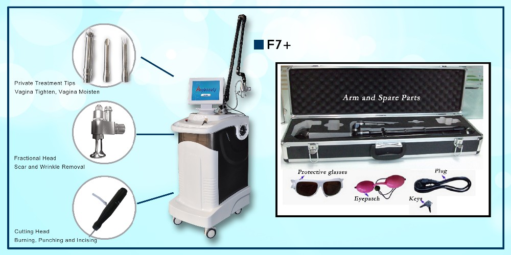 Anybeauty Ce Approval F7+ Rf Tube Co2 Fractional Laser Vaginal ...