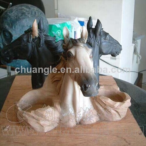High quality Resin Horse Craft for 2014 horse year,OEM Horse Figure
