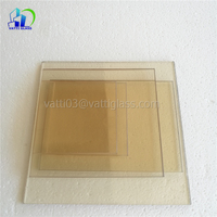 Replacement Wood Stove Glass High Quality Thermal Shock Resistant Glass