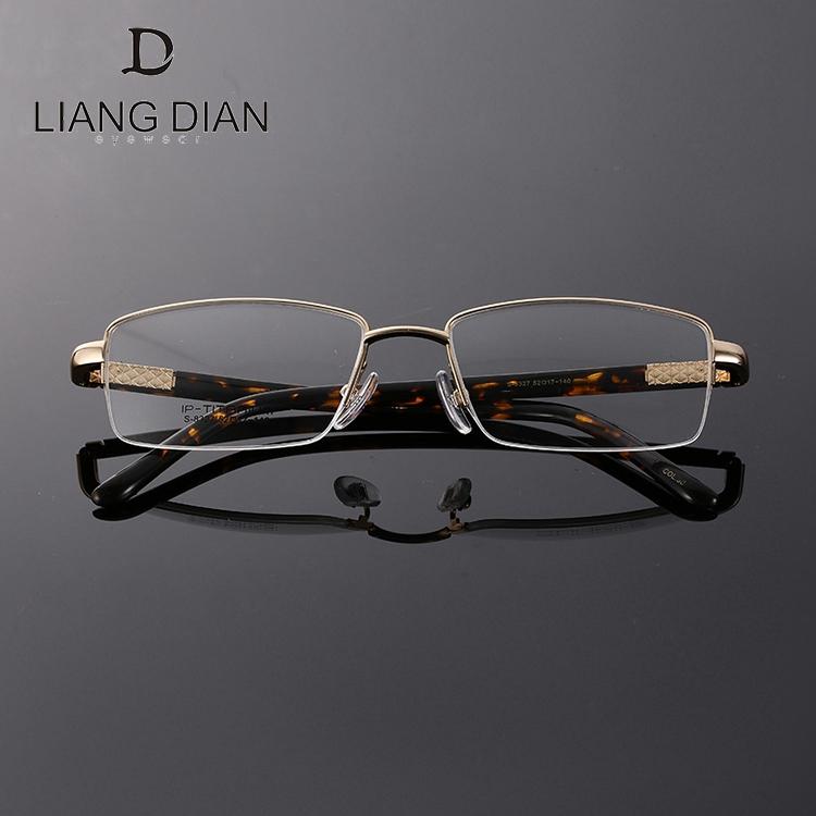 1 paire de lunettes flexibles en acier inoxydable, pour homme, verres flexibles