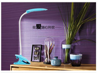 Modern industrial color change desk rechargeable led table lamp