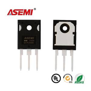 SFP2006 [ASEMI] 20A 600V Through Hole TO-247/3P Super Fast Recovery Diode 3 Pins For Switching Supply