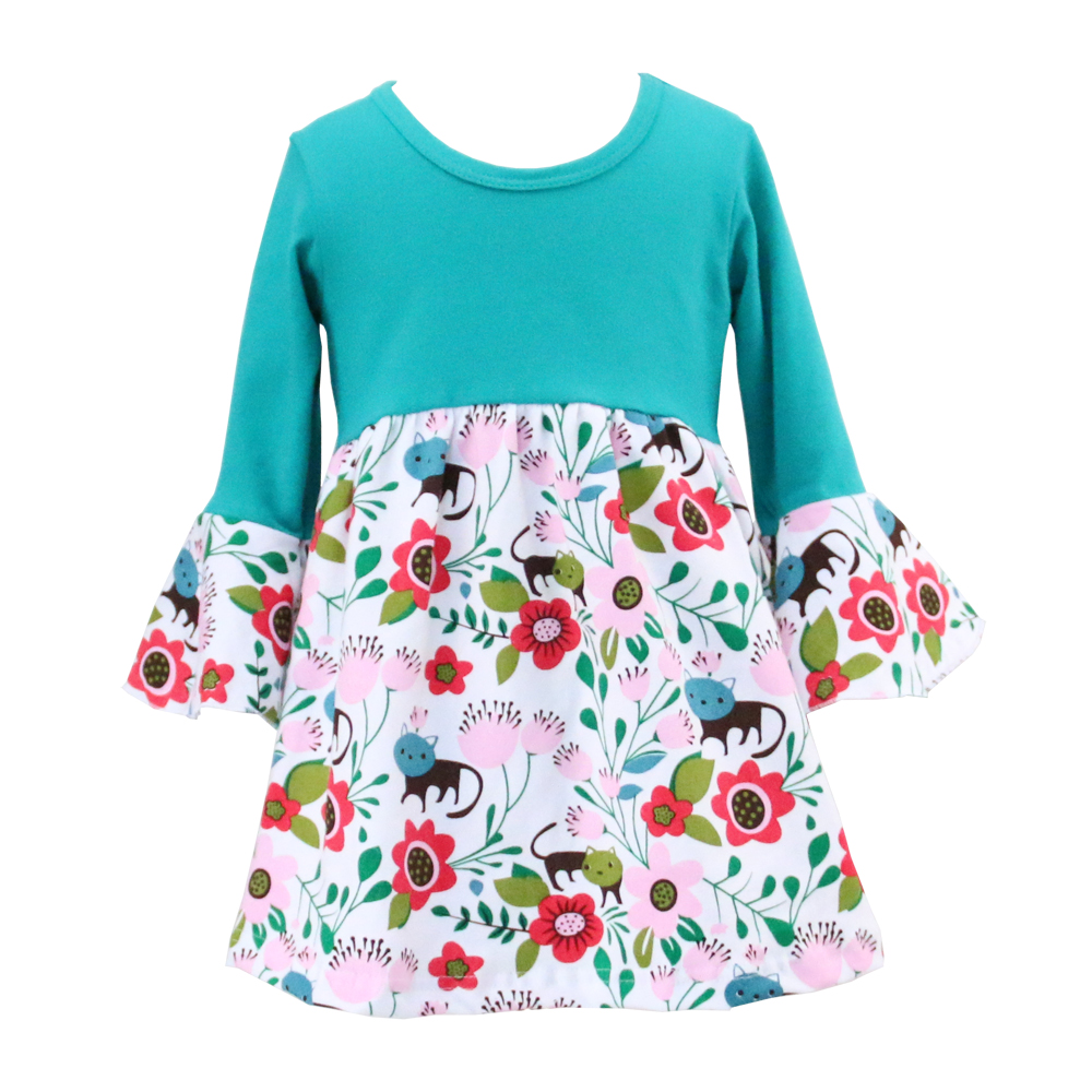 Kaiyo 2018 Cotton Wholesale Girl Party Dresses Kids Clothing ...