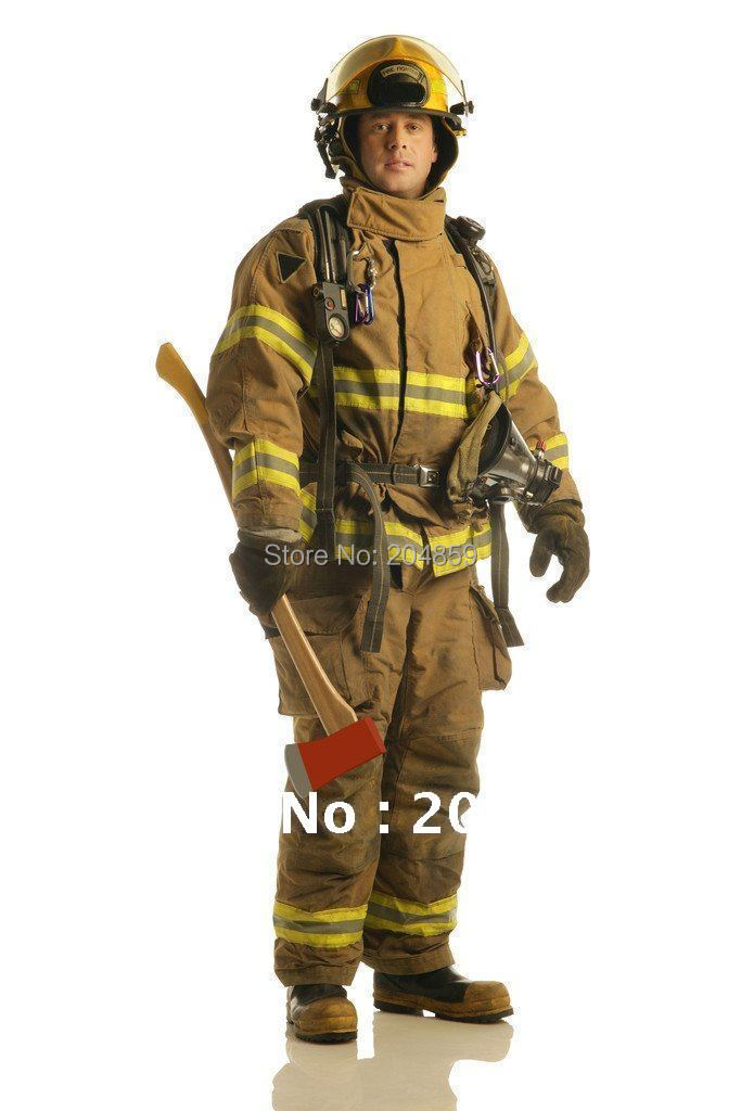 02 Type Fire Insulation Clothing Firefighter Suit Uniform