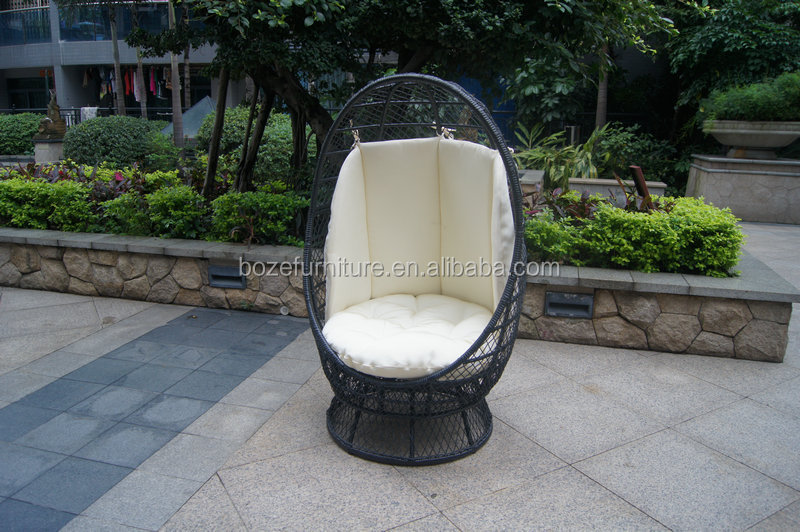 Captivating Outdoor Hanging Chair / Garden Wicker Swing Chair Swivel Chair