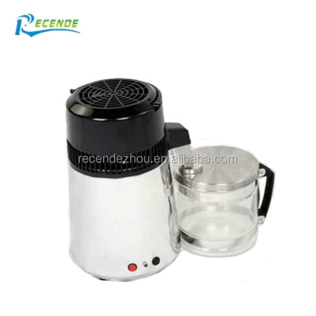 4l Hause Reines Wasser Distiller Filter Maschine Dental Wasser Destilliertem Destillation Purifier Ausrüstung Edelstahl Kunststoff Krug Haushaltsgeräte Haushaltsgeräte
