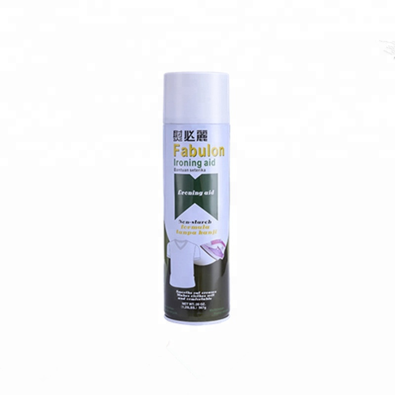Stiratura spray per amido Speed ​​Speed ​​per panni Formula chimica