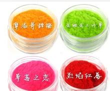 Fashion Nail polish with shaggy hair silk effect DIY nail tools 12 colors