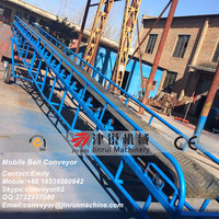 Jinrui coal mining equipment DY6510 belt conveyor transportation for iron ore