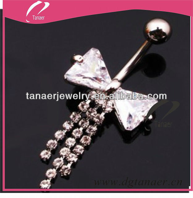 body piercing jewelry stainless steel belly chain