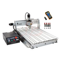 LY CNC 8060Z 2.2kw 3 axis CNC router with USB port for wood, metal, aluminum cutting milling engraving machine,also have 6090