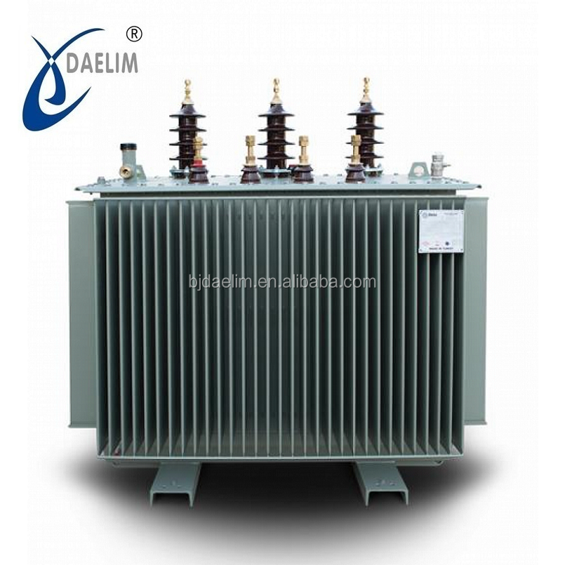 ISO certificated 10kv 500kva oil immersed  NLTC power transformer