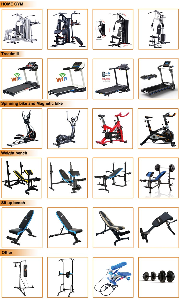 Various Types of Mens Home Gym Wholesale Indoor Use  Fitness Equipment