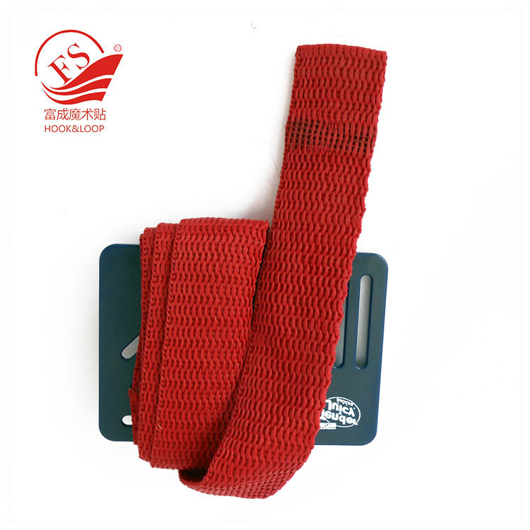 Top quality bright color nylon webbing vintage book strap belt with plastic card
