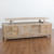 Antique vintage style reclaimed wooden classic tv stand