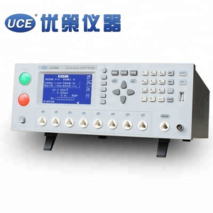 8 channel Insulation Hipot Withstand Voltage Tester AC 5kV DC 6kV